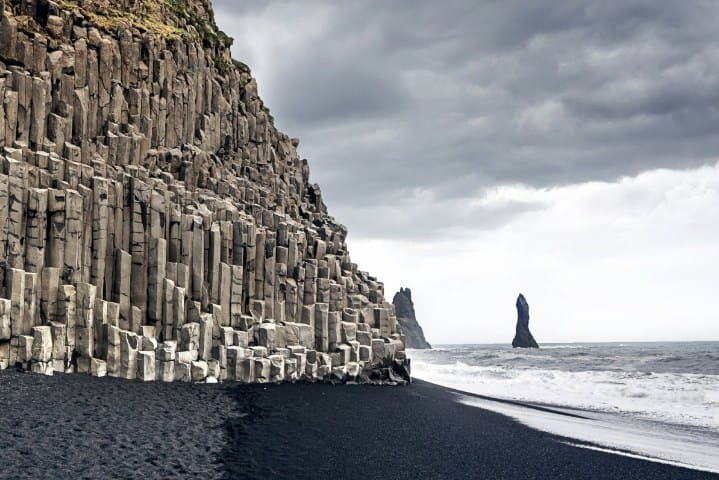 Black Sand Beaches Iceland: Stokksnes Beach Iceland