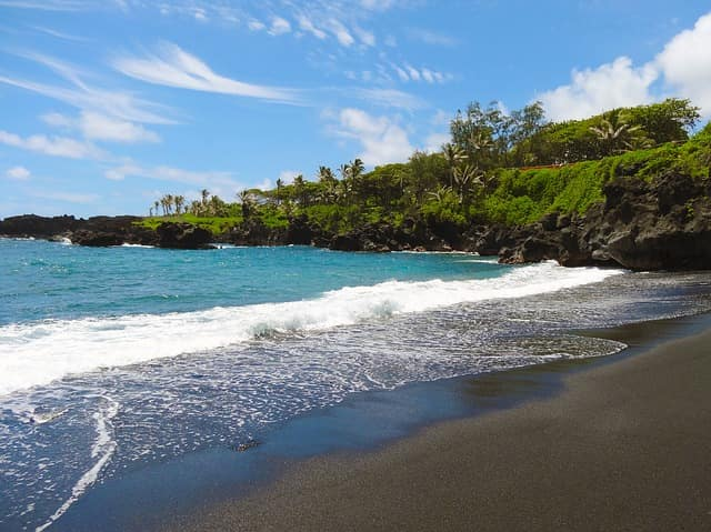 15 Best Black Sand Beaches in the World