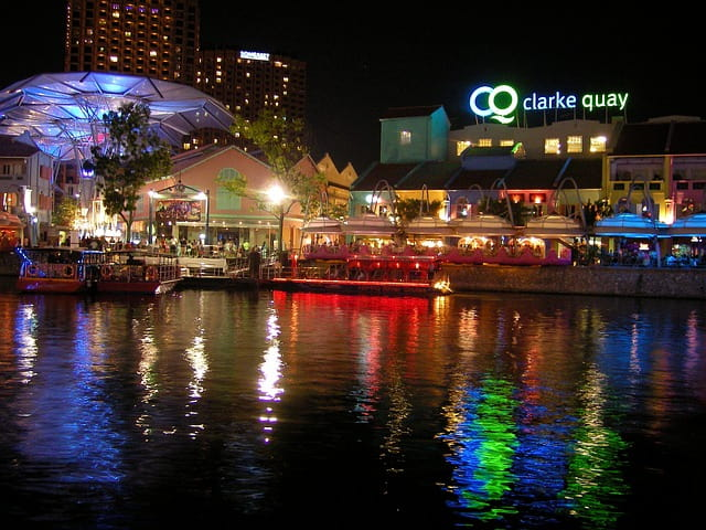 Clarke Quay Singapore Attraction
