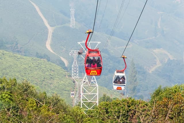 The Best Place To Visit In Darjeeling Is Ropeway