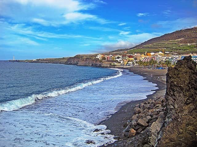 Black Sand Beach Canary Islands: Playa Jardin Beach