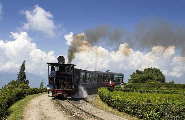 Tourist place in Darjeeling city: The Joy Ride on Toy Train