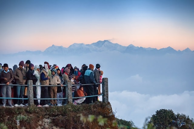 Tiger Hill another very famous tourist place in Darjeeling