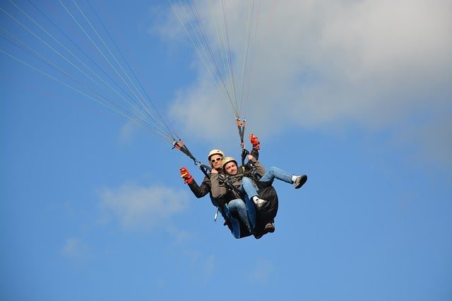 Paragliding In Gangtok And Nearby Area