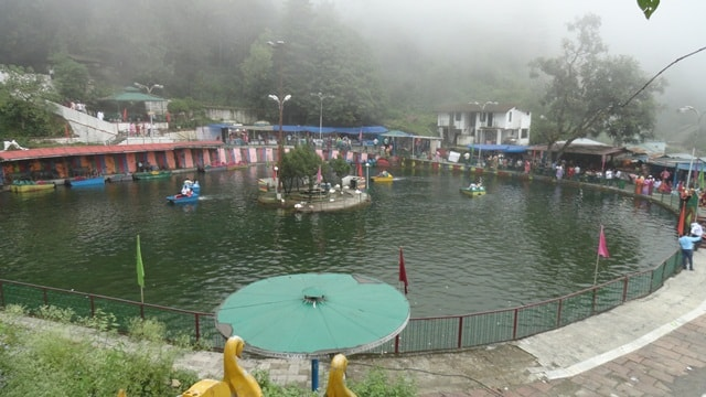 Lake Mist Mussoorie Hill Station