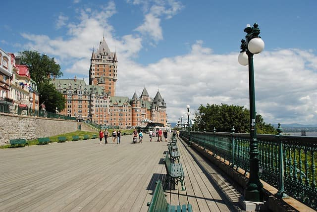 Places To Visit In Canada Chateau Frontenac Tours Quebec City