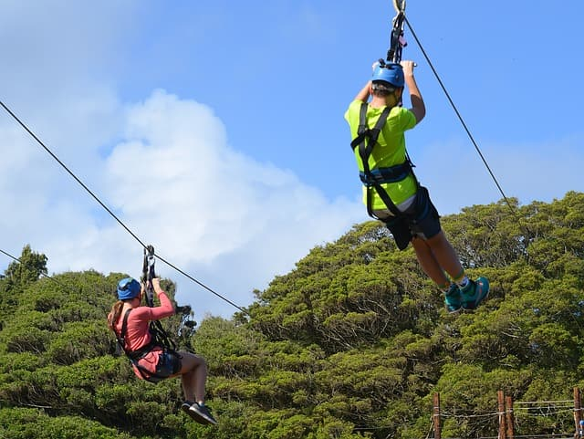 Things To Do In Oahu Hawaii: Kualoa Ranch Zipline