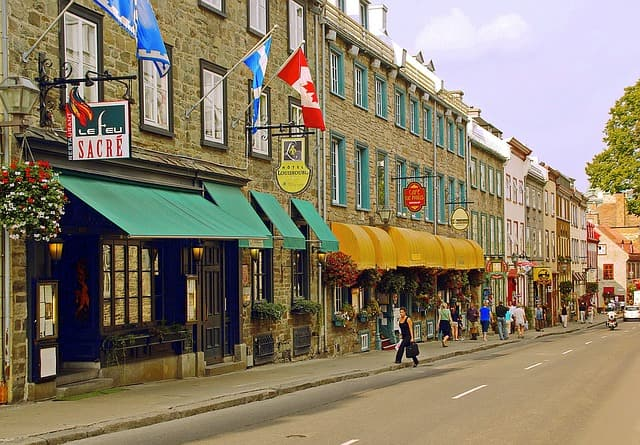 Places To Visit In Canada Old Quebec City