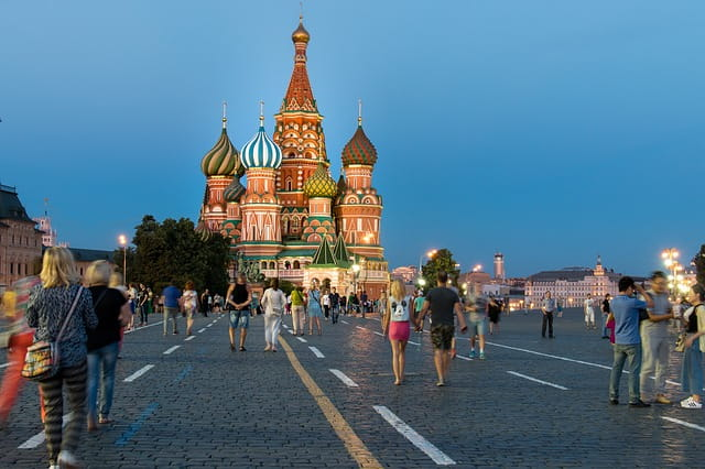 Russia For Colorful Cathedrals