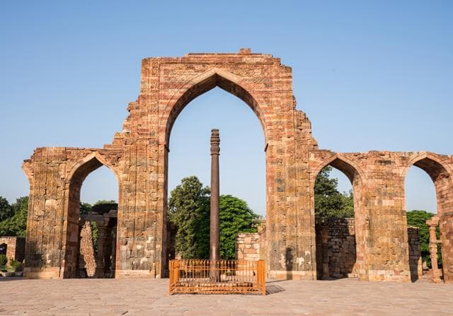 Iron Pillar Mehrauli Information Delhi Tourism