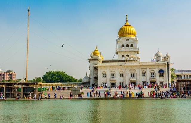 Gurudwara Bangla Sahib Delhi Tourist Places