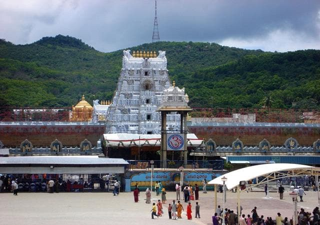 Places Near Bangalore  Tirupati Balaji Temple Chennai