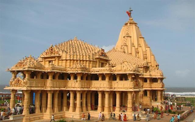 New Somnath Temple Gujarat Indian Temple