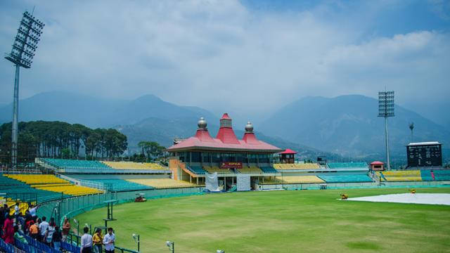 Cricket Stadium In Dharamshala Himachal Pradesh