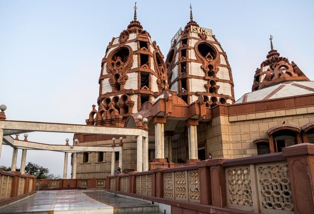 Iskcon Temple Delhi Tourist Places