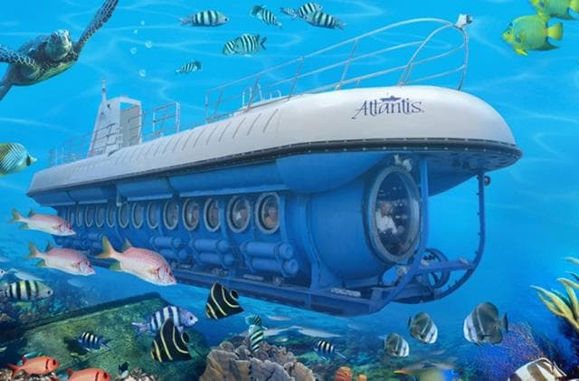 Atlantis Submarine Waikiki Things To Do In Oahu With Kids