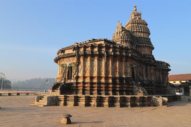Sringeri Sharada Temple Bangalore Best Places To Visit In Chikmagalur