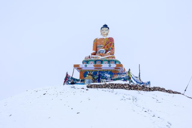 Langza Village Buddha Statue Offbeat Places In Spiti Valley Tours