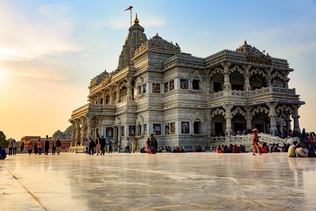 Places To Visit In Vrindavan: Krishna Bhumi Vrindavan Temple