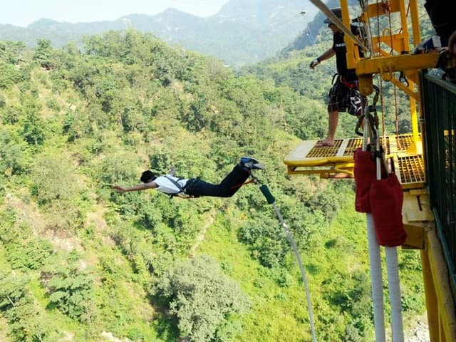 Bungee Jumping In Rishikesh Tourism