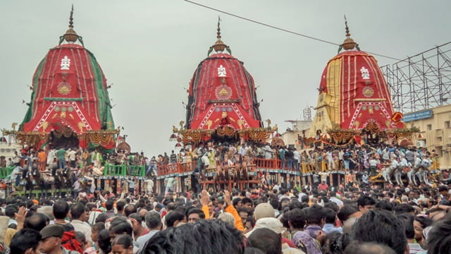 Things To Do In Puri Char Dham India: Engage In Rath Yatra