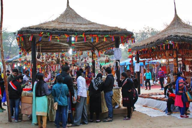 Surajkund Mela Faridabad Haryana Tourist Places Near Delhi Within 100 Kms