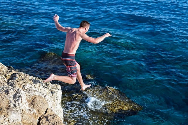 Little Bay Anguilla Cliff Jump