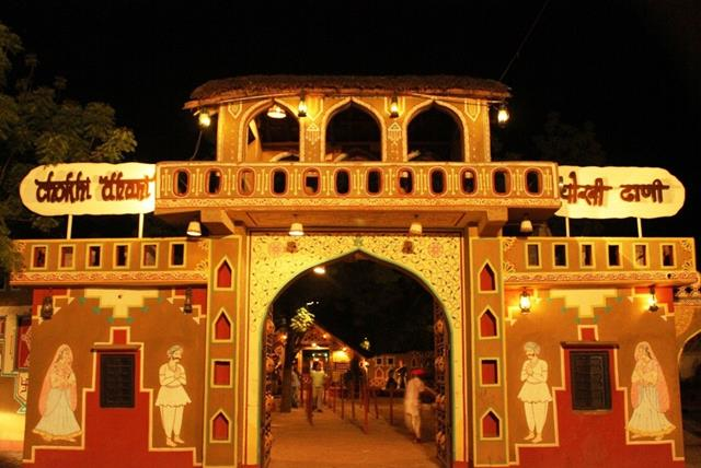 Places To Visit Near Delhi Within 300 Kms: Chokhi Dhani Jaipur