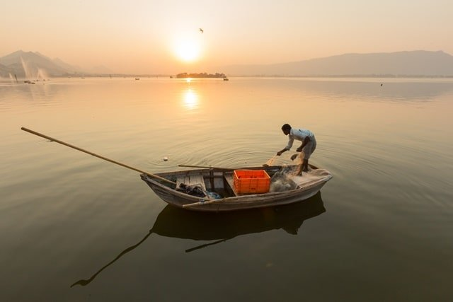 Ajmer Places To Visit: Ana Sagar Lake