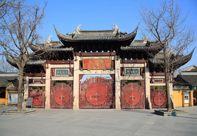 Longhua Temple For Its Architecture