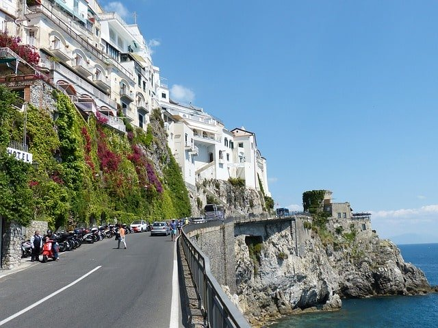 Take A Tour Of Positano Rent A Scooter