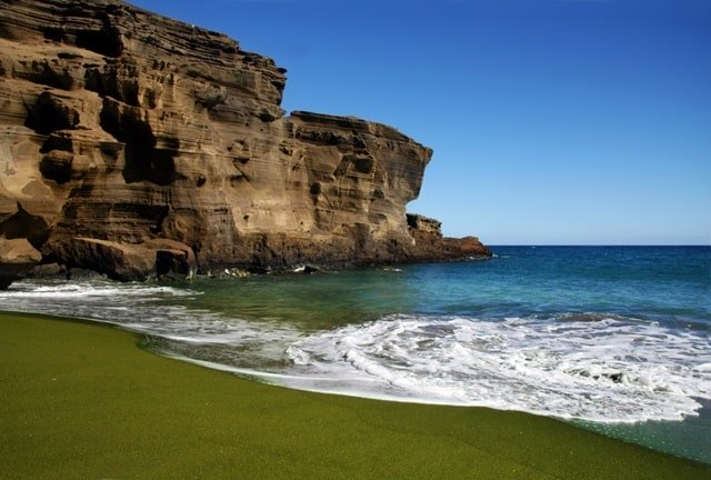 List Of Green Sand Beaches In The World