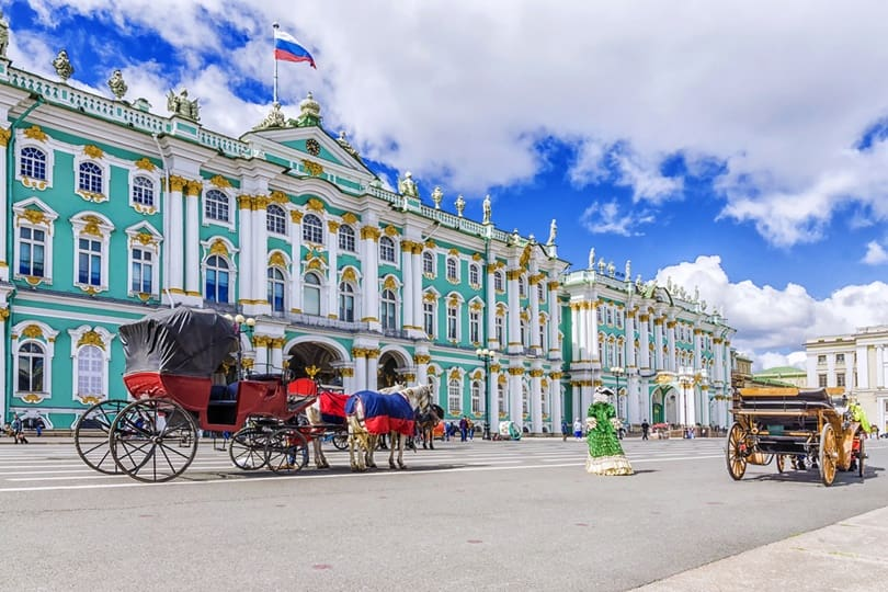 Travel To St Petersburg Russia Points Of Interest