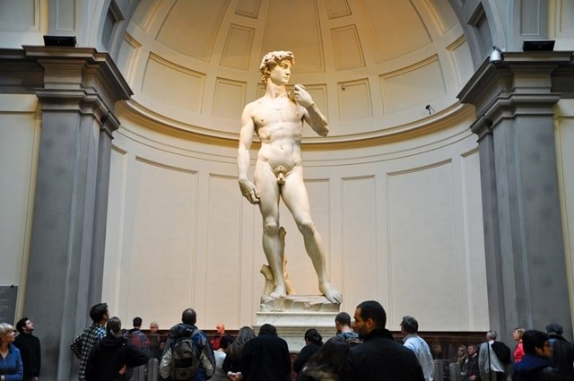 Places to visit in Florence Italy : Galleria Dell'Accademia Florence