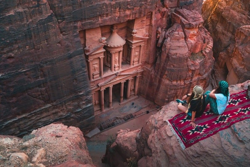 Seven Wonders Of The World: Petra Facts: History