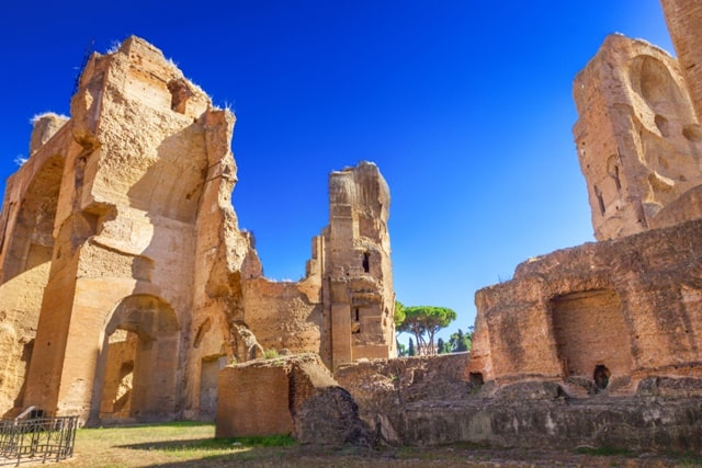 Hike Through The Best Thermal Baths In Rome