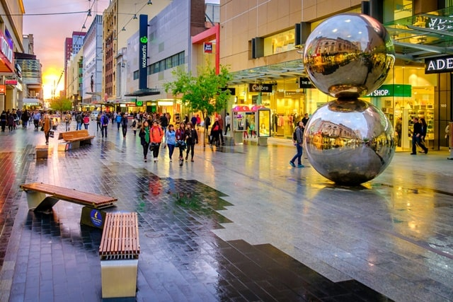 Shop At The Rundle Mall Adelaide