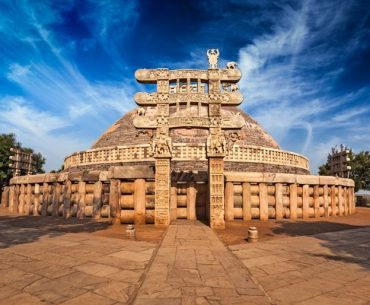 Great Stupa At Sanchi: Sanchi Tourism: Sanchi Stupa Facts