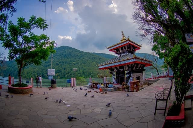 Tal Barahi Temple Major Tourist Attraction Of Pokhara Valley