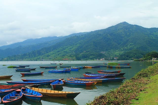 Phewa Lake Natural Beauty Of Pokhara Valley