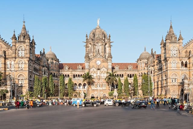 CST Railway Station, Mumbai, Maharashtra National Monument Of India