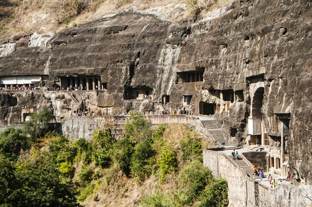 Ajanta Ellora Caves, Maharashtra Historical Monuments Of India