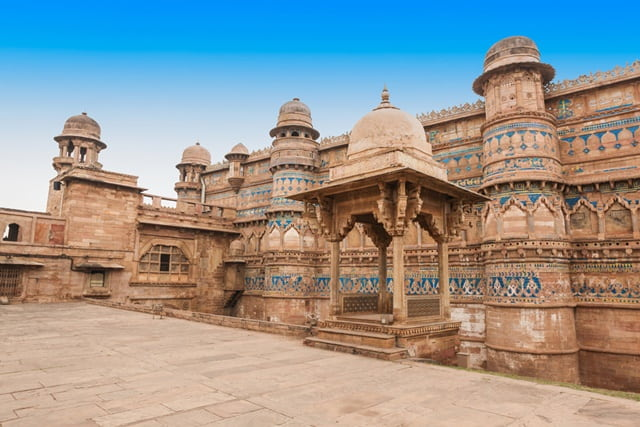 Gwalior Fort, Madhya Pradesh Best Monuments In India