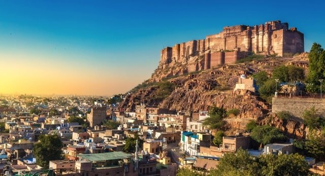 Mehrangarh Fort, Rajasthan Historical Monuments Of India