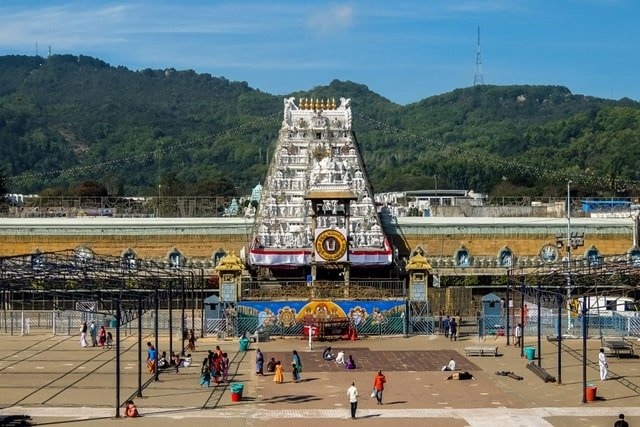 Tirupati Balaji Temple, Andhra Pradesh Famous Monuments Of India
