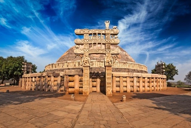 Sanchi Stupa, Madhya Pradesh Historical Monuments Of India