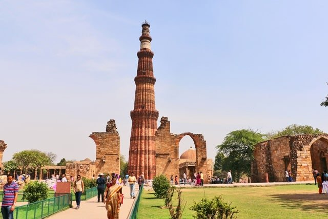 Qutub Minar, Delhi Modern Monuments Of India