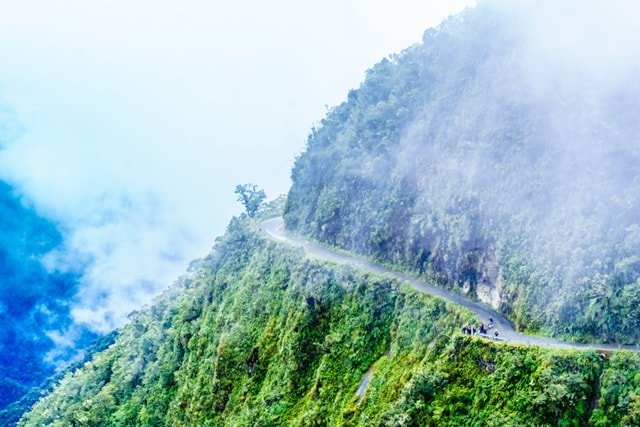 Old Yungas Road, Bolivia image
