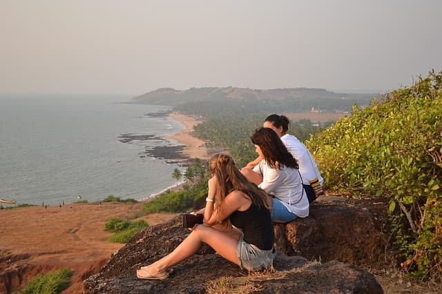 Things To Do And Point Of Interest At Anjuna Beach Goa