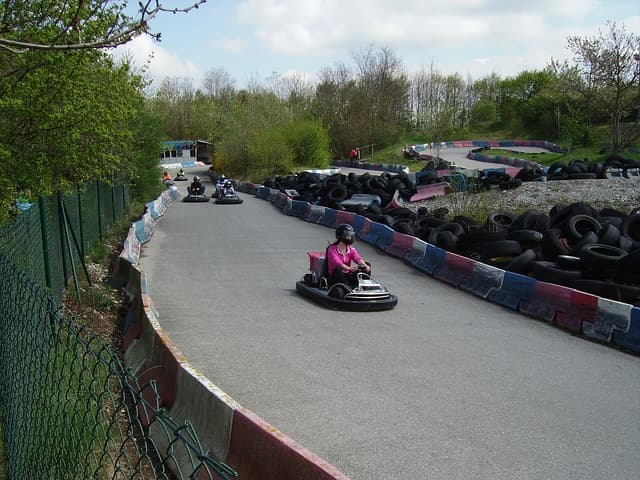 Things To Do At Anjuna Beach Arpora Go Karting